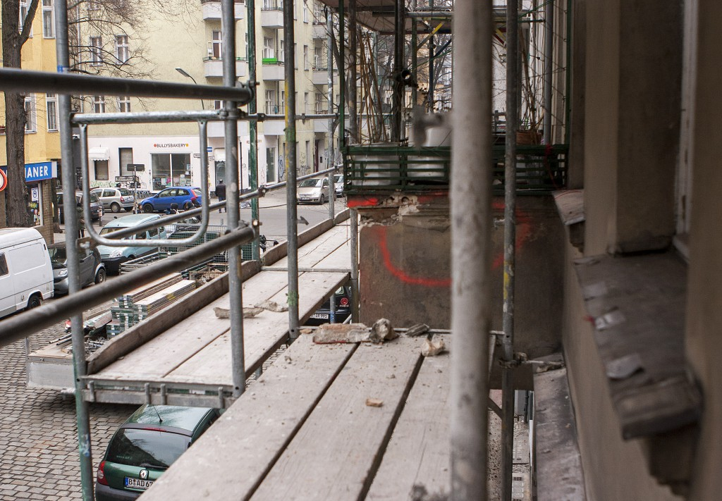 Balkon Zerstörung