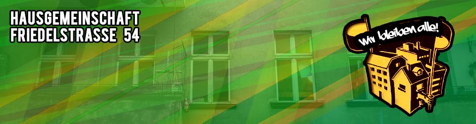 Hausgemeinschaft der Friedelstrasse 54
