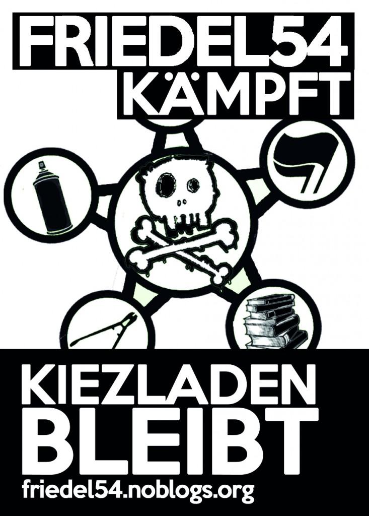 Aufkleber_Friedel kämpft_Neon_A7